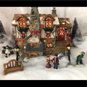 Christmas cottage decor 2002